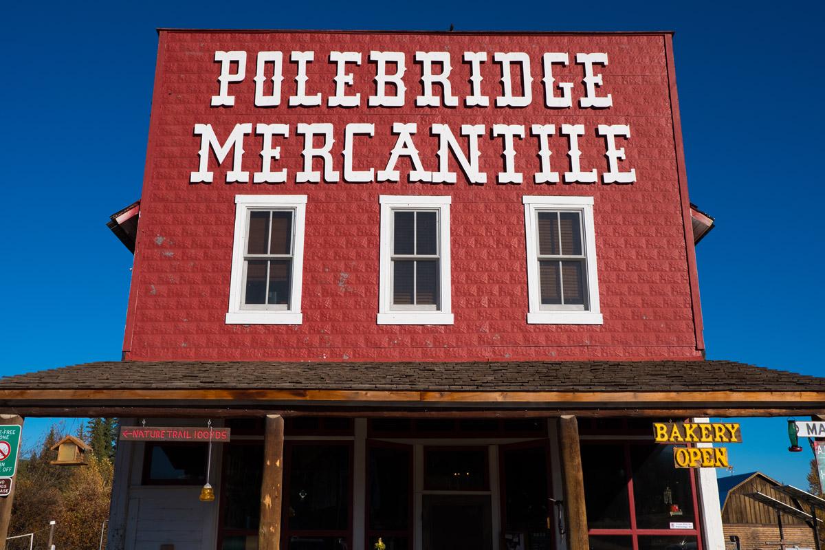 """""""Polebridge"""" em f/8 1/750 ISO200."""