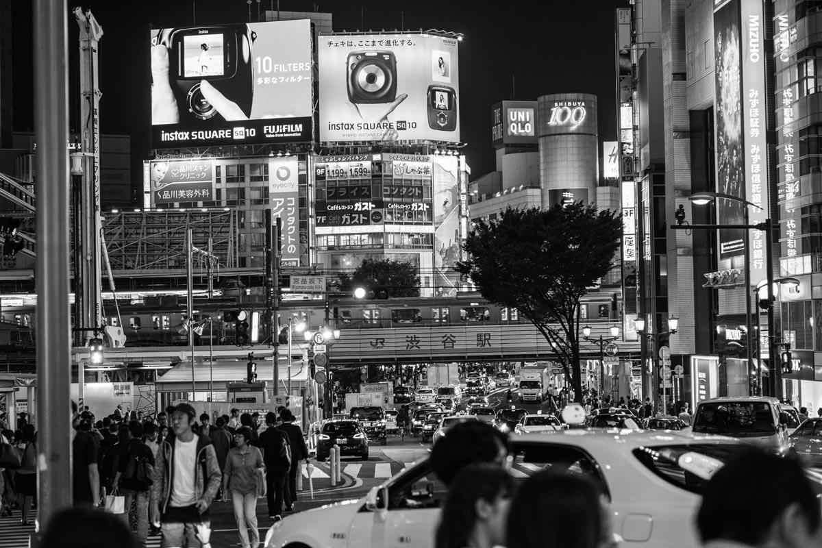 """Shibuya"" em f/2 1/125 ISO320."