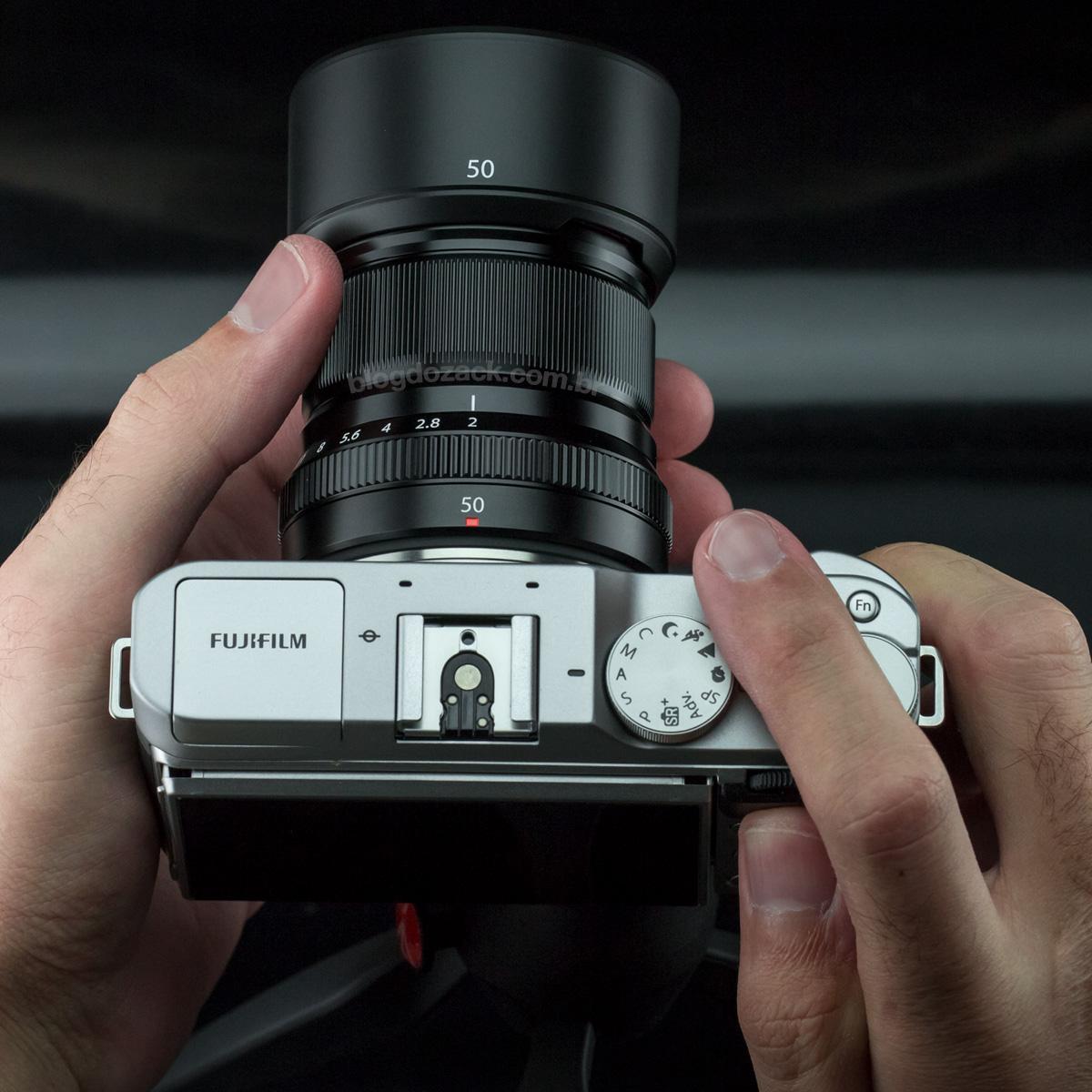 Fujifilm XF 50mm f/2R WR HANDS