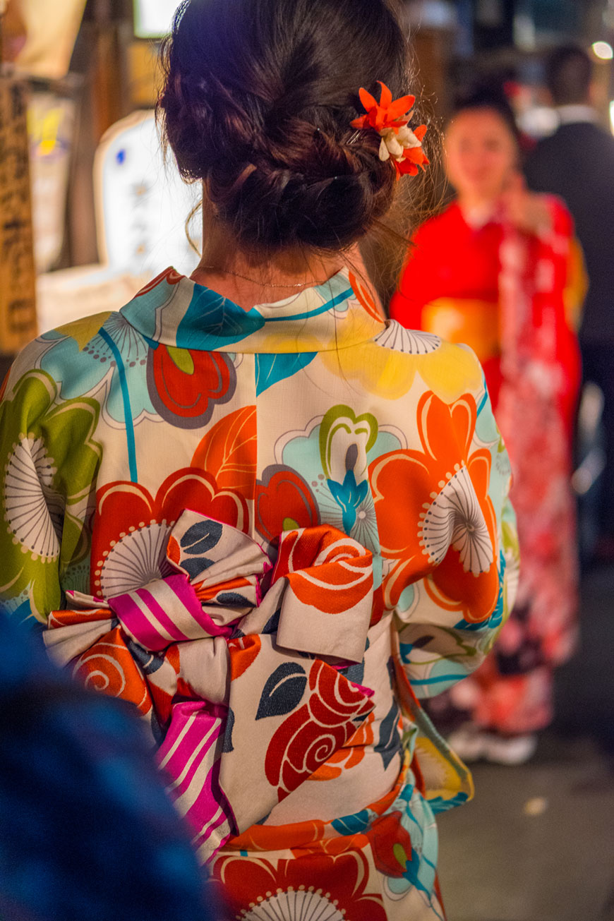 """Kimono"" with the XF 50mm f/2 R WR at f/2 1/125 ISO1250."