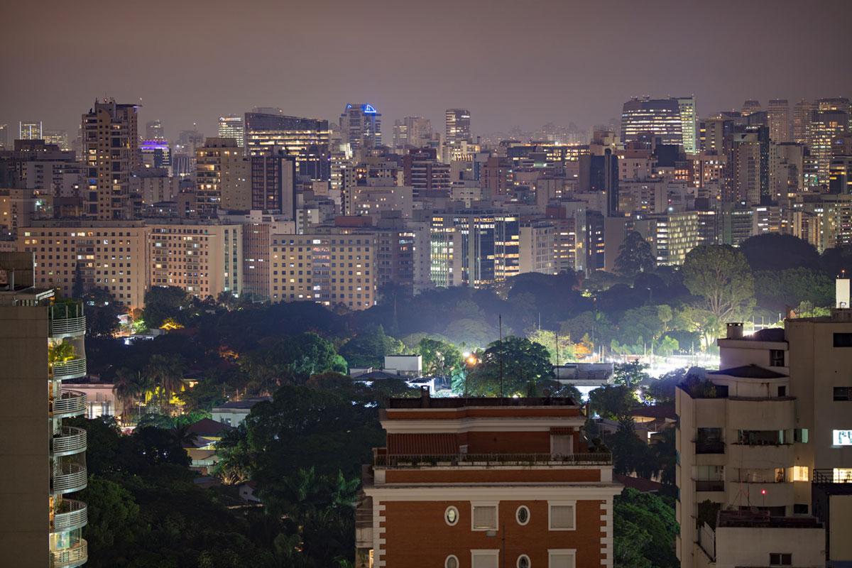 """São Paulo"" at f/1.8 1s ISO100."
